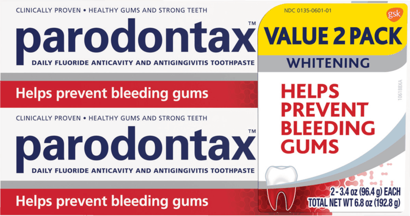 $2.00 for Parodontax Toothpaste (expiring on Monday, 11/30/2020). Offer available at Walmart, Walmart Grocery.