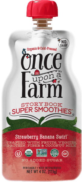 $0.50 for Once Upon A Farm Storybook Super Smoothies (expiring on Friday, 11/02/2018). Offer available at multiple stores.