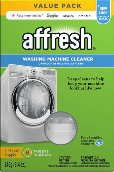 $1.00 for affresh® Washing Machine Cleaner (expiring on Tuesday, 01/08/2019). Offer available at multiple stores.