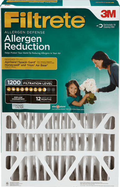 $5.00 for Filtrete™ Deep Pleat Air Filter. Offer available at Walmart.