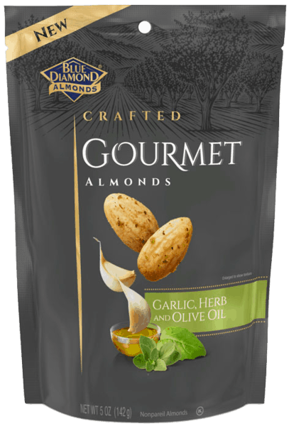 $1.00 for Blue Diamond® Gourmet Almonds (expiring on Monday, 04/01/2019). Offer available at Target.