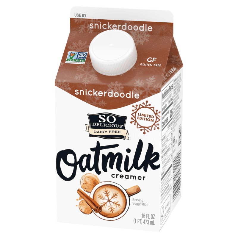$0.75 for So Delicious® Oatmilk Creamer (expiring on Thursday, 07/02/2020). Offer available at Target, Whole Foods Market®, Sprouts Farmers Market.