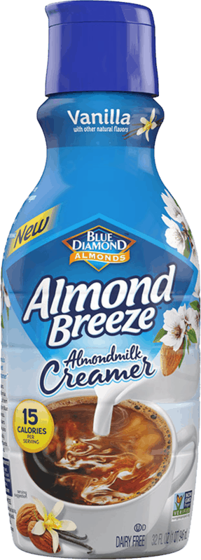 $1.00 for Almond Breeze™ Almondmilk Creamer (expiring on Wednesday, 09/25/2019). Offer available at multiple stores.