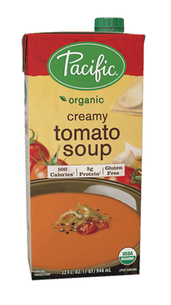 $0.50 for Pacific Foods™ Creamy Soup (expiring on Thursday, 08/02/2018). Offer available at multiple stores.