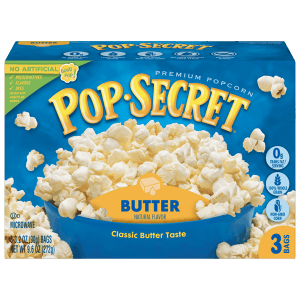 $0.50 for Pop Secret® (expiring on Sunday, 06/02/2019). Offer available at multiple stores.