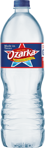 $0.50 for Ozarka® Brand Natural Spring Water (expiring on Friday, 03/02/2018). Offer available at Walmart.
