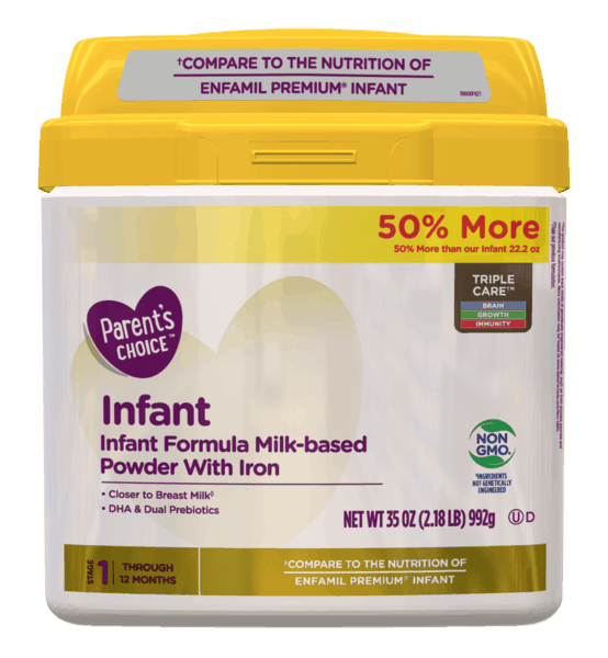 $3.00 for Parent's Choice™ Infant Formula (expiring on Monday, 06/17/2019). Offer available at Walmart.