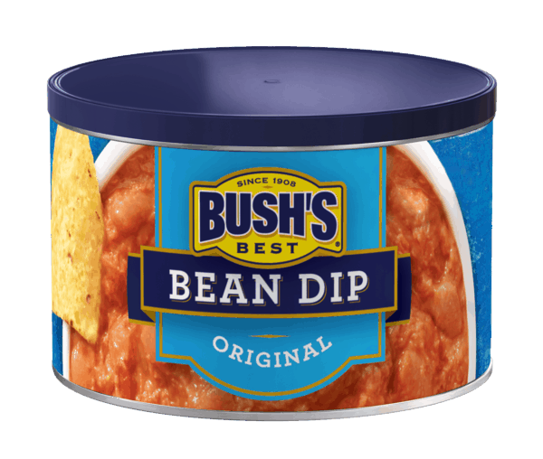 $1.00 for BUSH'S® Bean Dip (expiring on Saturday, 12/29/2018). Offer available at Walmart.