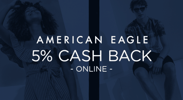 $0.00 for American Eagle (expiring on Wednesday, 08/22/2018). Offer available at AmericanEagle.com.