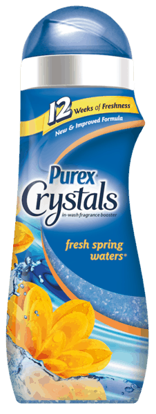 $1.00 for Purex® Crystals™ (expiring on Sunday, 05/06/2018). Offer available at multiple stores.