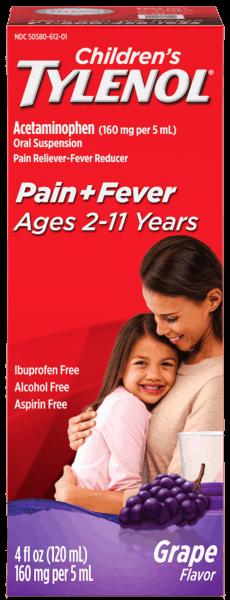 $2.00 for Pediatric TYLENOL®, Pediatric MOTRIN®, Children's SUDAFED®, or Children's TYLENOL® Cold. Offer available at Walmart.