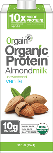 $1.00 for Orgain® Organic Protein™ Almond Milk. Offer available at Safeway.