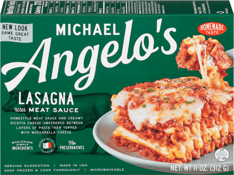 $1.00 for Michael Angelo's® Single Serve Frozen Entrees. Offer available at multiple stores.