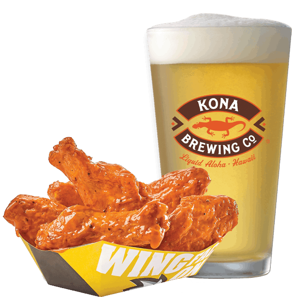 $2.00 for Kona Brewing Co and Any Appetizer (expiring on Tuesday, 10/31/2017). Offer available at Any Restaurant, Any Bar.