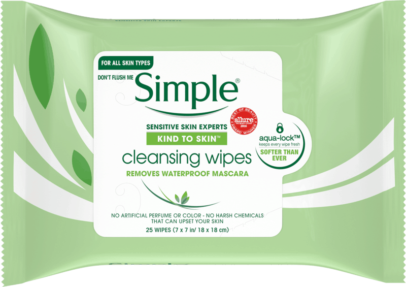 $1.00 for Simple Kind to Skin Wipes (expiring on Thursday, 07/02/2020). Offer available at multiple stores.