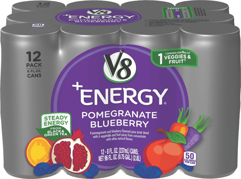 $2.00 for V8+Energy® (expiring on Tuesday, 05/18/2021). Offer available at Walmart, Walmart Pickup & Delivery.
