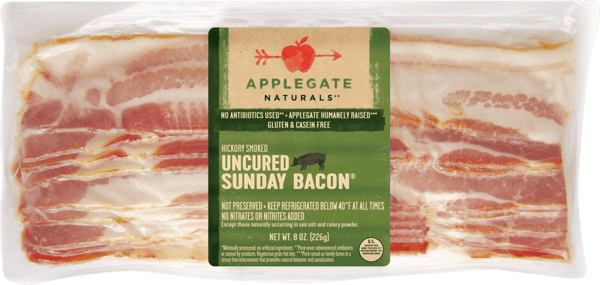 $0.25 for Applegate® Bacon (expiring on Saturday, 06/02/2018). Offer available at multiple stores.