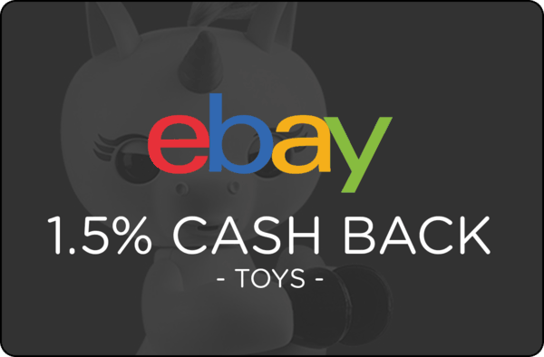 $0.00 for Ebay Toys (expiring on Monday, 12/31/2018). Offer available at eBay.