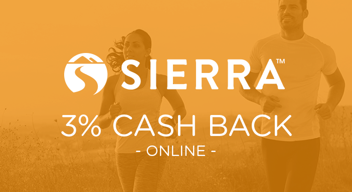 $0.00 for Sierra (expiring on Thursday, 04/30/2020). Offer available at Sierra.