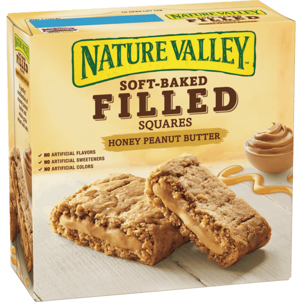 $0.50 for Nature Valley™ Filled Squares (expiring on Sunday, 09/16/2018). Offer available at Target.