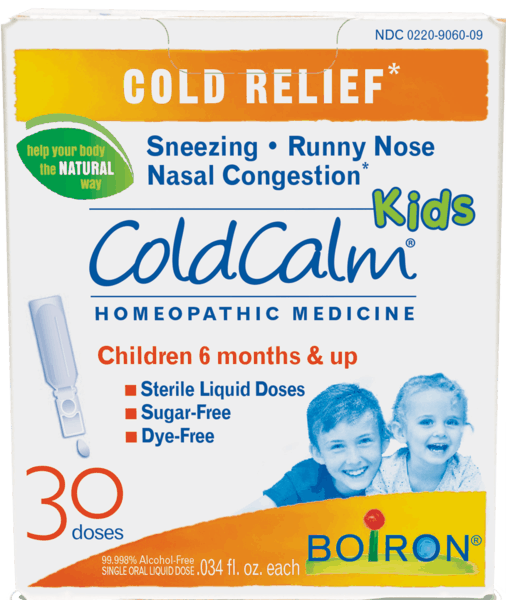 $0.50 for ColdCalm® Kids (expiring on Monday, 01/31/2022). Offer available at multiple stores.