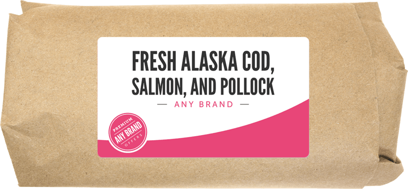 $2.00 for Fresh Alaska Pollock, Salmon, and Cod. Offer available at multiple stores.