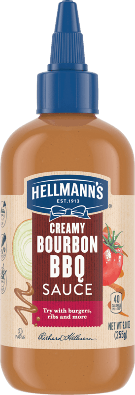 $1.00 for Hellmann's Creamy Bourbon BBQ Sauce (expiring on Saturday, 10/31/2020). Offer available at multiple stores.