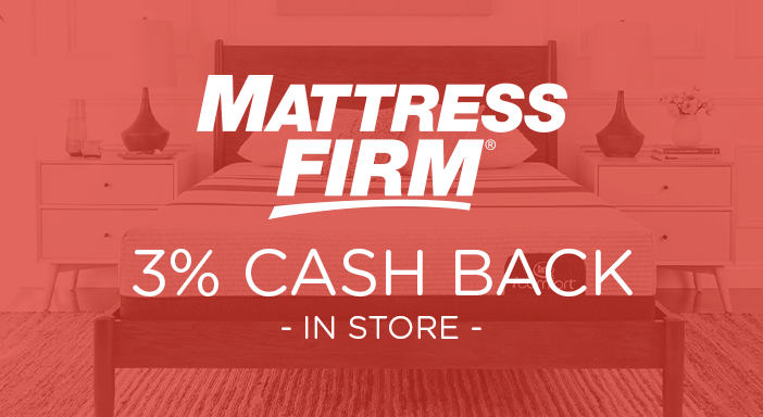 $0.00 for Mattress Firm (expiring on Wednesday, 03/11/2020). Offer available at Mattress Firm.