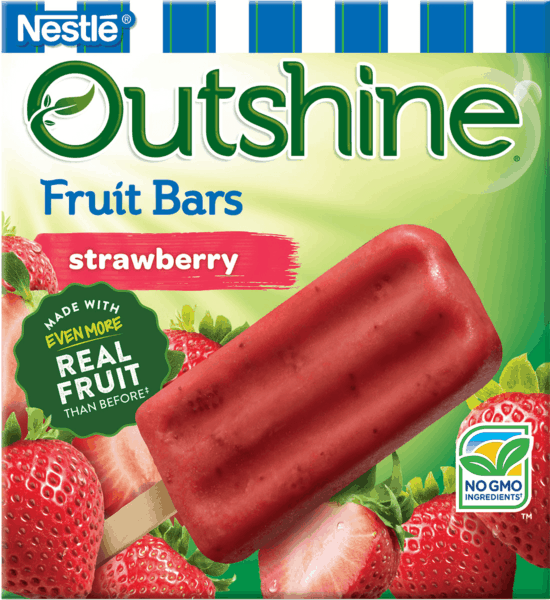 $0.75 for OUTSHINE® Fruit Bars (expiring on Saturday, 06/02/2018). Offer available at Walmart.