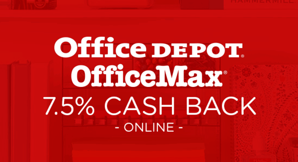 $0.00 for Office Depot (expiring on Wednesday, 08/22/2018). Offer available at Office Depot .