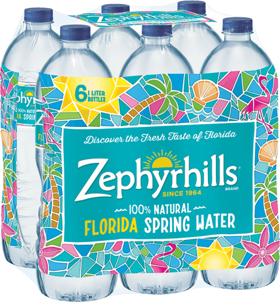 $1.00 for Zephyrhills® Brand Natural Spring Water (expiring on Friday, 03/02/2018). Offer available at Walmart.