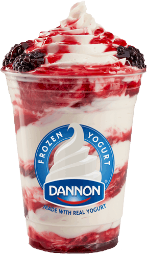 $0.75 for Dannon® Four Berry Frozen Yogurt Sundae (expiring on Tuesday, 04/04/2017). Offer available at Sam's Club.