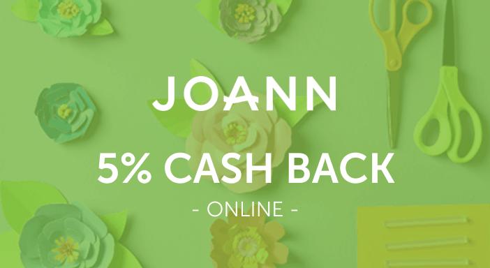 $0.00 for JOANN.com (expiring on Friday, 10/31/2025). Offer available at JOANN.com.