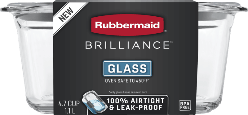 $2.00 for Rubbermaid Brilliance Containers (expiring on Monday, 05/31/2021). Offer available at Target, Meijer.