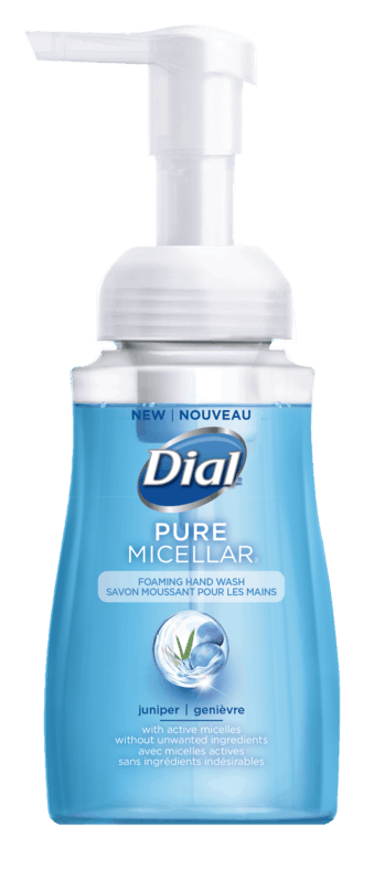 $0.75 for Dial Pure Micellar Liquid Hand Soap (expiring on Sunday, 03/15/2020). Offer available at Walmart.