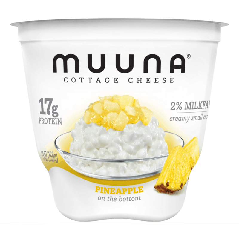 $0.50 for Muuna® Cottage Cheese Pineapple (expiring on Monday, 09/02/2019). Offer available at Walmart, Meijer, Wegmans.