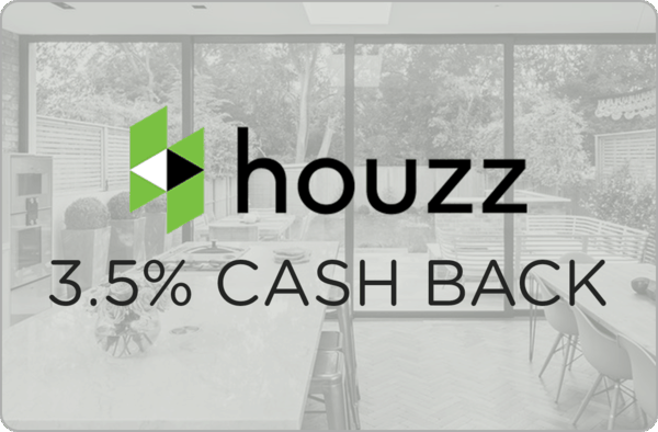 $0.00 for Houzz (expiring on Sunday, 10/22/2017). Offer available at Houzz.