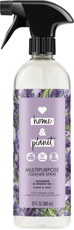 $1.00 for Love Home and Planet™ Multipurpose Cleaner Spray. Offer available at Walmart.