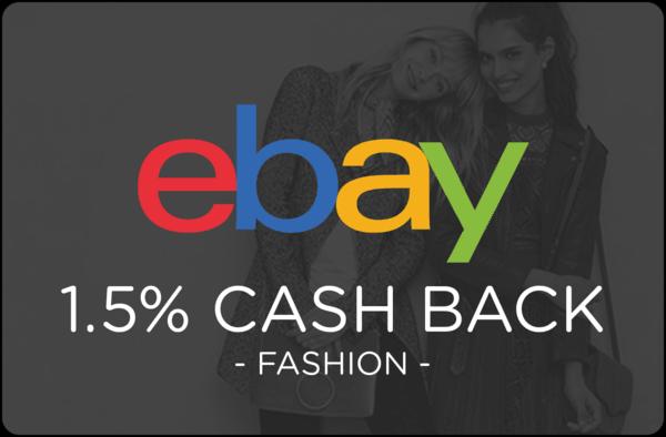 $0.00 for Ebay Fashion (expiring on Thursday, 04/04/2019). Offer available at eBay.
