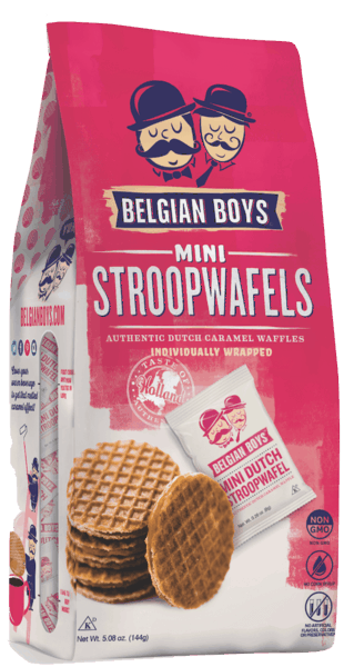 $1.00 for Belgian Boys Mini Stroopwafel (expiring on Tuesday, 08/06/2019). Offer available at Target, Meijer, Stop & Shop, ShopRite, PriceRite.