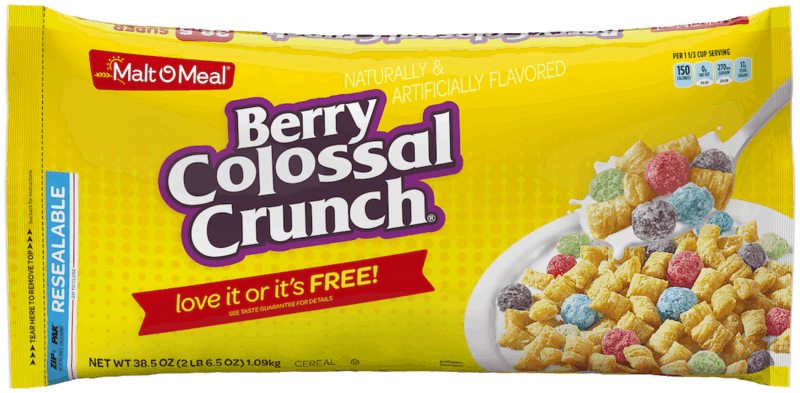 $0.15 for Malt O' Meal Bagged Cereal (expiring on Thursday, 08/20/2020). Offer available at multiple stores.