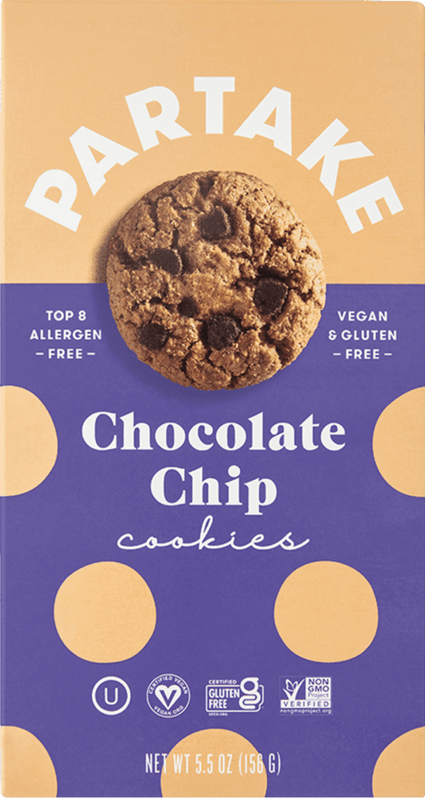$0.25 for Partake Cookies (expiring on Tuesday, 10/19/2021). Offer available at Trader Joe's.