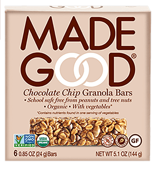 $1.00 for MadeGood® (expiring on Tuesday, 04/02/2019). Offer available at multiple stores.