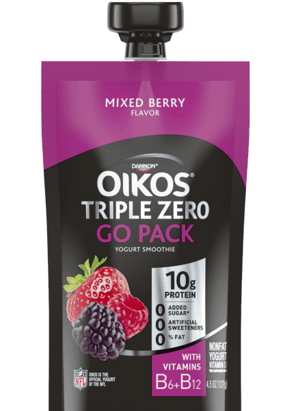 $0.25 for Oikos® Triple Zero Go Pack (expiring on Friday, 08/02/2019). Offer available at Walmart.