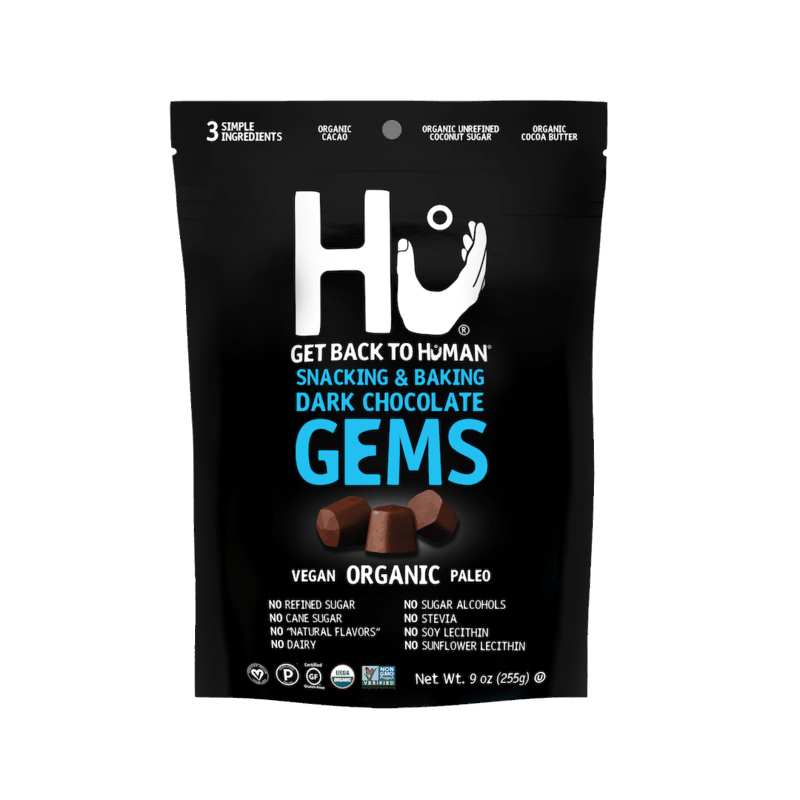 $1.25 for Hu Chocolate Gems (expiring on Sunday, 02/28/2021). Offer available at multiple stores.