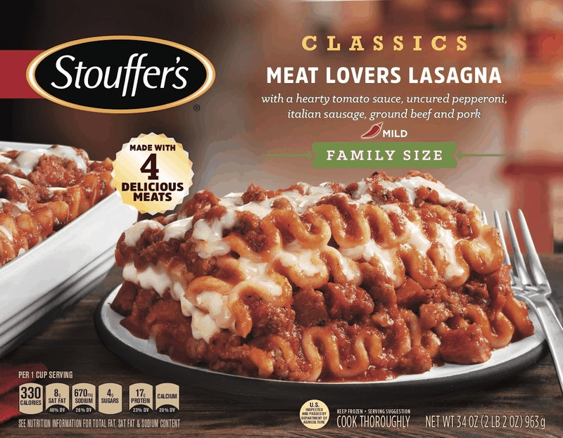 photograph relating to Stouffers Coupons Printable identified as $5.00 for STOUFFERS® Loved ones Dimensions Food stuff. Give obtainable at