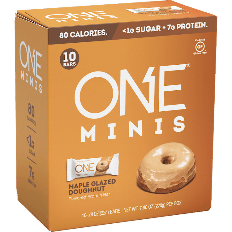 $1.00 for ONE MINIS Protein Bar. Offer available at Walmart, Walmart Pickup & Delivery.