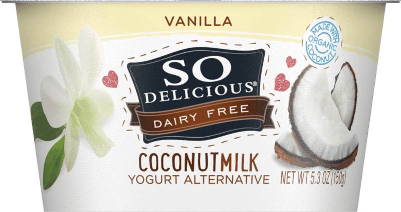 $0.50 for So Delicious Dairy Free Coconutmilk Yogurt Alternative (expiring on Wednesday, 10/02/2019). Offer available at multiple stores.