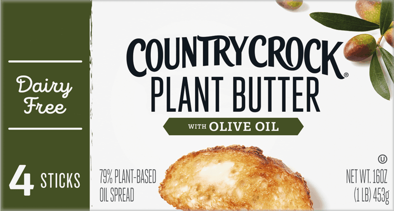 $1.00 for Country Crock Plant Butter Sticks. Offer available at Walmart, Walmart Pickup & Delivery.
