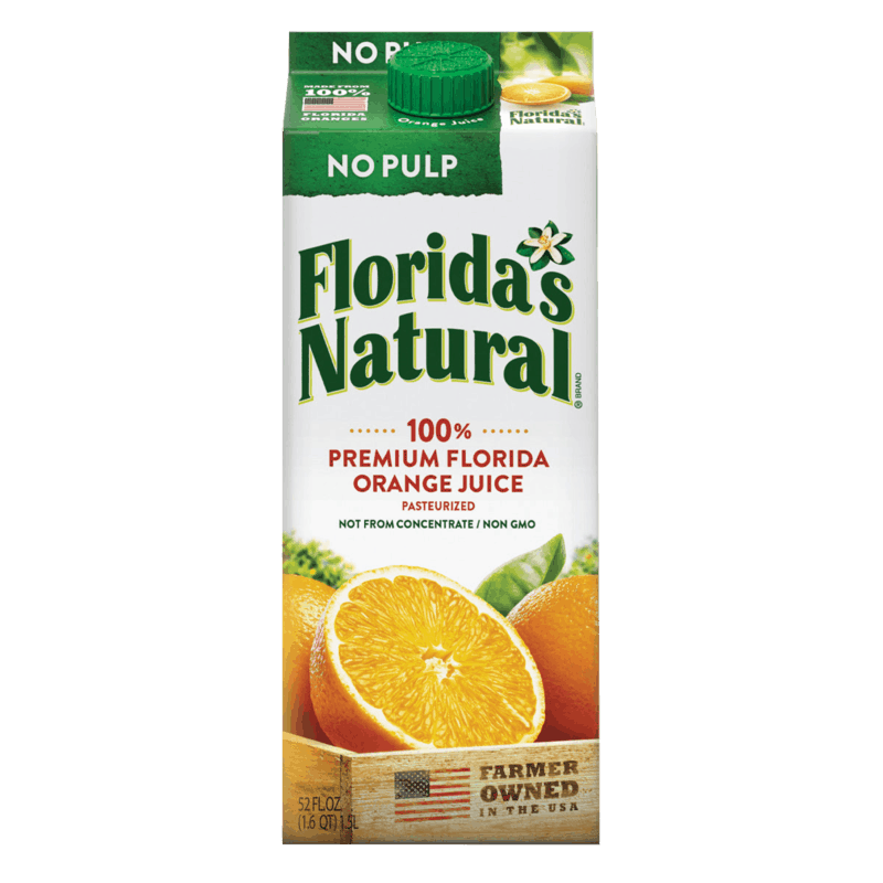 $1.00 for Florida's Natural NFC Orange Juice (expiring on Sunday, 02/09/2020). Offer available at multiple stores.